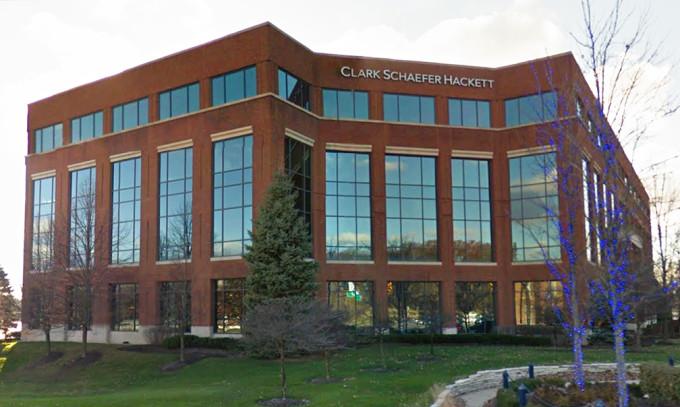 Clark Schaefer Hackett's building in Columbus, Ohio